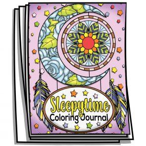 Sleepytime Coloring Planner
