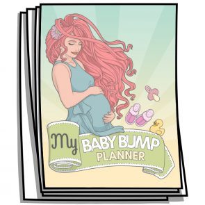 My Baby Bump Coloring Planner