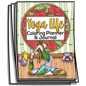 Yoga Life Coloring Planner